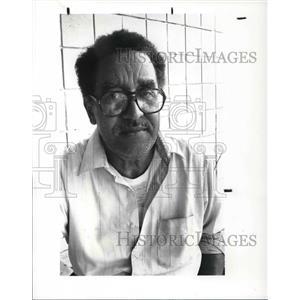 1987 Press Photo Ronald Harris