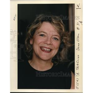 1997 Press Photo Monica Grinnell as she smiles - ora28628