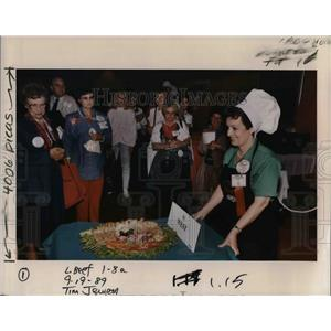 1989 Press Photo Sherlyne Hutchinson of Hillsboro - ora42661
