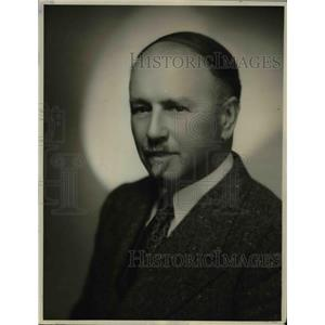 1937 Press Photo John Smallman Conductor of Church Choir - orp26663