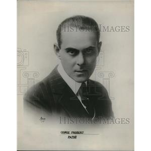 1917 Press Photo George Probert, Pathe - nex60822