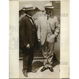 1916 Press Photo Senator Atlee Pomerene of Ohio & Sec of Agri David Houston
