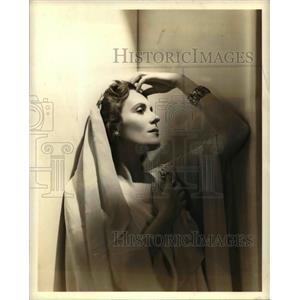 1942 Press Photo Jarmila Novotna, Czech Soprano - orp23043