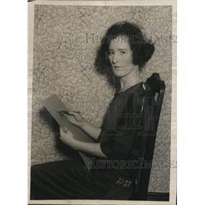 1923 Press Photo Mrs Jessie L Paton pres Morningside Girls Athletic Club