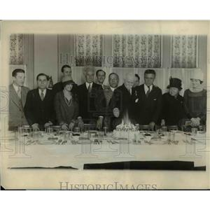 1921 Press Photo Edward, James Hocking, J.P Muller, and Willie Reinbold