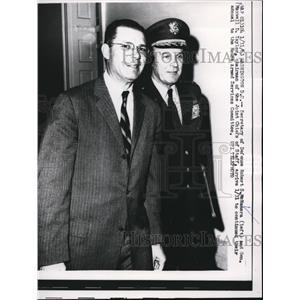 1963 Press Photo Sec. Robert S. McNamara, and Gen. Maxwell D. Taylore