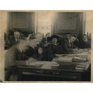 1922 Press Photo Mrs. Gilberson Court - nee02829