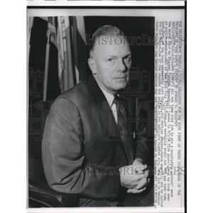 1961 Press Photo Stephen Patrick Kennedy Police Commissioner of NYC - nee02028