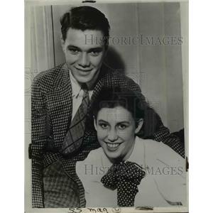 1936 Press Photo Mr & Mrs William Moegelin - nee03436