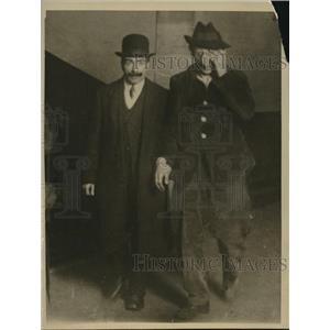 1919 Press Photo Emile Cottin after assassination attempt of Premier Clemenceau