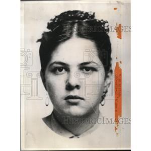 1940 Press Photo Roni Del Riantos being Held as Spy Suspect - nee08965