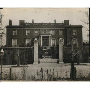 1917 Press Photo Home of former Ambassador Henry White