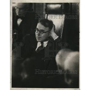 1927 Press Photo Philip Alayne Newspaperman - nee11188