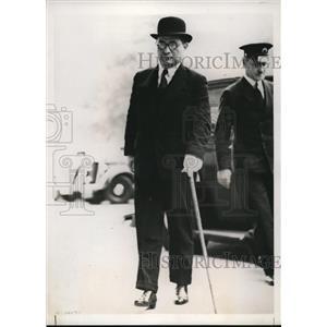 1939 Press Photo Japanese Ambassador Mamoru Shicemitsu - nee19851