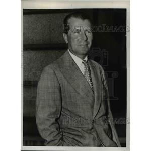 1939 Press Photo Count George Potocki, Polish Ambassador to U.S. - nee26670