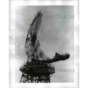 1960 Press Photo Air Force site in Alabam Antenna Reflector - nee39449