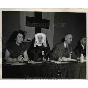 1947 Press Photo the memebers of Accident Prevention Service for the Red Cross