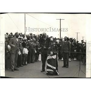 1935 Press Photo Hon. Peter Heehan Trans-Canada Highway  - nee47813