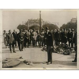1927 Vintage Photo NY Mayor James Walker tomb Unknown Soldier Paris