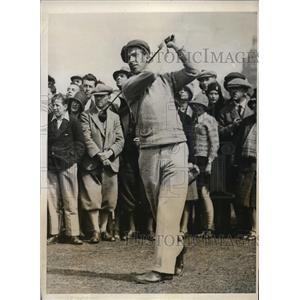 1931 Press Photo Sidney Roper British golfer in Amateur rounds - nes28484