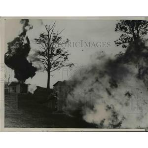 1936 Press Photo U.S. Mine Bureau Study Coal Explosions, Bruceton Pennsylvania