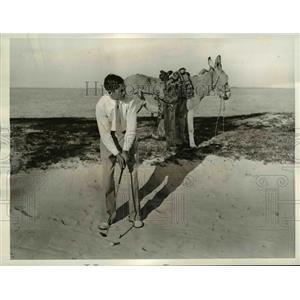 1935 Press Photo Nassau British Colonial open golf tournament, Terl Johnson