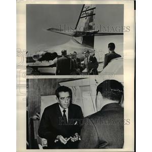 1962 Press Photo Mexico President Adolfo Lopez Mateos Touring Europe - nee65348