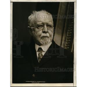 1927 Press Photo George Perkins Merrill geologist at US National Museum DC