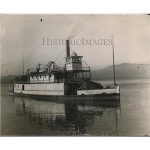 1911 Press Photo Ship Named Caroline - nex86768
