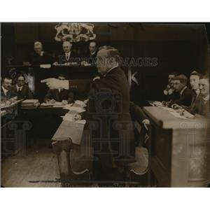 1920 Press Photo Horatio Bottomley Died May 1933