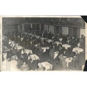 1927 Press Photo National Bridge Tournament Contestants in Chicago
