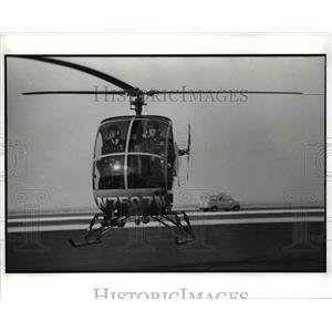 1989 Press Photo The Police Helicopter - cva75675