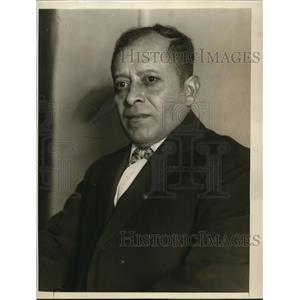 1926 Press Photo Colonel Miguel F Sequeira of Central America in Washington DC