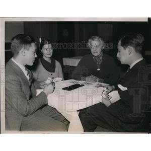 1936 Press Photo American Bridge League's Tournament at Chicago. - nee83458