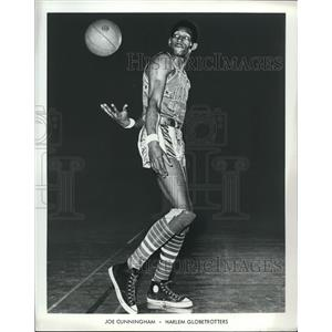 1971 Press Photo Joe Cunningham of the Harlem Globetrotters - ors02155