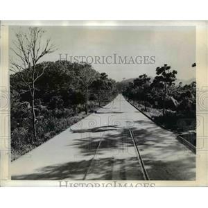 1942 Press Photo Brazil's Strategic Highway Between Rio De Janeiro & Petropilis