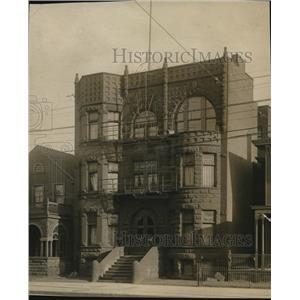 1911 Press Photo Cleveland, Ohio-The Granger-Prospect Avenue near 22nd