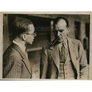 1939 Press Photo William Moncrieff of NJ flew across Atlantic to London