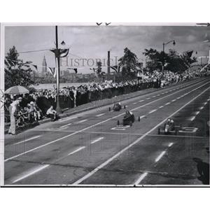 1948 Press Photo Class A winners, Arnold Herpy, Ghent and Bud Friedl - cva77626