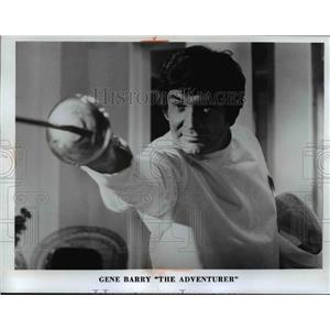 1972 Press Photo Gene Barry - cva97225