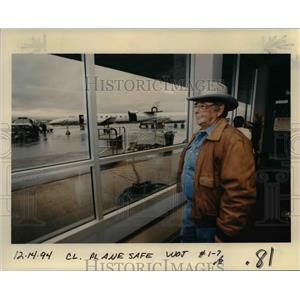1994 Press Photo Portland International Airport - orb36391