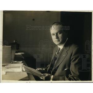 1918 Press Photo Martin Convay Adjutant General of the US draft - nex99724