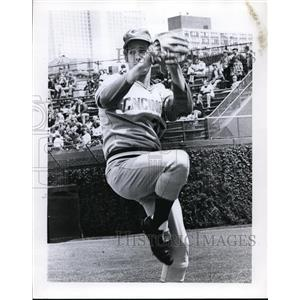 1974 Press Photo Don Gulleti of Cinncinati Reds pitching - nes45866