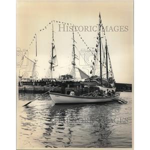 1981 Press Photo The Mystic seaport in Connecticut - cva19962