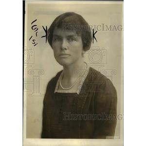 1919 Press Photo Mrs Walter Howe wife of commander of capital City of Am Legion