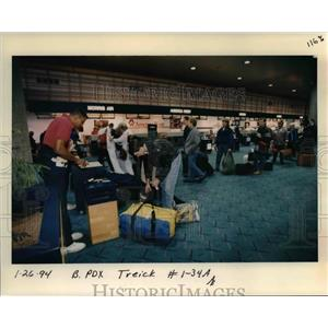 1994 Press Photo Portland International Airport - orb36322