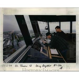 1999 Press Photo Portland International Airport Tower - orb39801