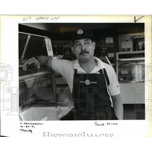 1991 Press Photo Paul Nim Former Member Cambodian Air Force - ora65145