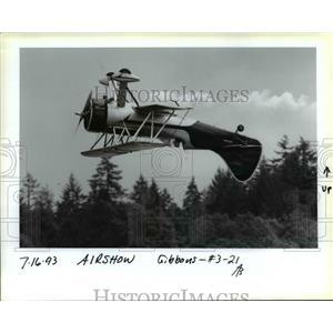 1993 Press Photo Porland Rose Festival - Air Show - orb36100