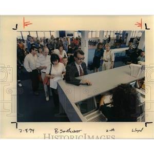 1994 Press Photo Portland International Airport - orb36326